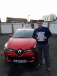Steven Skeldon passed at Gosforth passed with John Michael Driving School