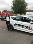 Emily Mather  passed with John Michael Driving School