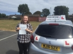 Morgan Black passed with John Michael Driving School