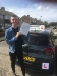 Joe Eccles  passed with John Michael Driving School