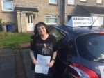 Samantha Passed at South Shields on the 05/10/2017 passed with John Michael Driving school