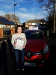 Lauren Boyle passed with John Michael Driving school