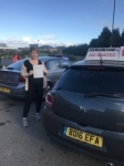 Thalia passed @ Blyth passed with John Michael Driving School