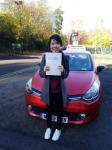Amanda from gosforth  passed with John Michael Driving School