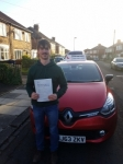 Dan Nagy passed with John Michael Driving school