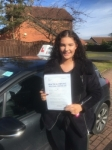 Philippa passed with John Michael Driving school