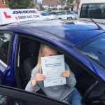 Lucy Jo passed with John Michael Driving School