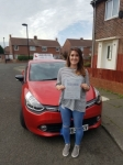 Jade Roberts passed with John Michael Driving School