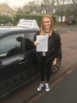 Emily Bell passed with John Michael Driving school