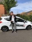 Nathan Bulloch passed with John Michael Driving School