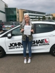 Natasha Brown passed with John Michael Driving School