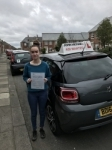 Courtney Passed at blyth on the 4/10/2017 passed with John Michael Driving School