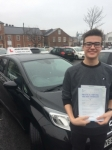 Max Johnson passed with John Michael Driving school