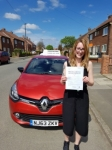 Faye passed with John Michael Driving School
