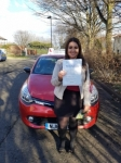 Rachel Bell passed with John Michael Driving School