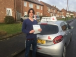 Jack Thornton passed with John Michael Driving school