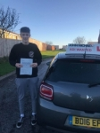Josh passed at blyth!  passed with John Michael Driving School