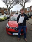 John Linny passed with John Michael Driving School