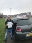 Stuie Tye passed with John Michael Driving School