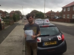 Chris passed at south shields on the 04/10/2017 passed with John Michael Driving School