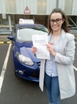 Jess passed with John Michael Driving School