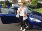 Katie Buddel passed with John Michael Driving School