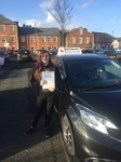 Rachel passed with John Michael Driving school