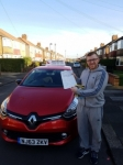 Carl Passed at Gosforth passed with John Michael Driving school