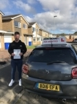Cameron passed at blyth on the 6/10/2017 passed with John Michael Driving School