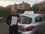 Daniel Malepiece  passed with John Michael Driving school