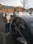 Arianne passed @ Blyth  passed with John Michael Driving School