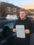 Thomas Hoggarth  passed with John Michael Driving school