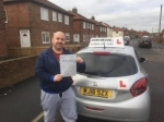 Gordon Taylor passed with John Michael Driving school