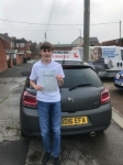 25/09/2017 Dale Scarr passed at Blyth passed with John Michael Driving School