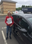 Ela passed with John Michael Driving School