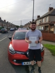 Taylor Crass passed with John Michael Driving School