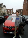 Isaak Patterson passed with John Michael Driving School