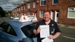 Alan Stones  passed with John Michael Driving school