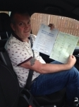 Andrew burnham passed with John Michael Driving School