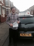 Andrew donaldson passed with John Michael Driving school