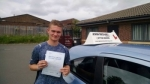 Ash Davison passed with John Michael Driving school