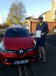 Issac passed at Gosforth  passed with John Michael Driving School