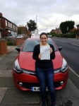 Georgia passed @ Gosforth on the 20/10/2017 passed with John Michael Driving school
