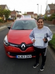Sammi passed on gosforth on the 9/11/2017 passed with John Michael Driving School