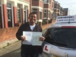 George  passed with John Michael Driving School