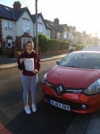 Erin Passed at blyth on the 10/11/2017 passed with John Michael Driving school