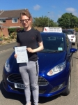 Kieran passed with John Michael Driving School