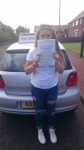Brooke Parker  passed with John Michael Driving School