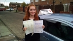 Bryony Keogh passed with John Michael Driving School