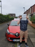 Mr X passed with John Michael Driving School